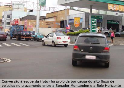 Asttran modifica um dos acessos à rua Belo Horizonte