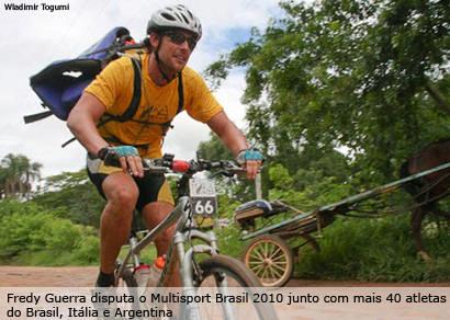 Fredy Guerra representa Minas no Multisport Brasil 2010