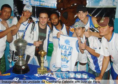 Cruzeiro inaugura a Confraria Celeste de Araxá neste sábado