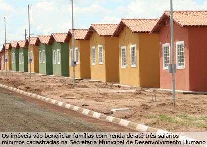 Prefeitura garante execução do projeto Minha Casa, Minha Vida