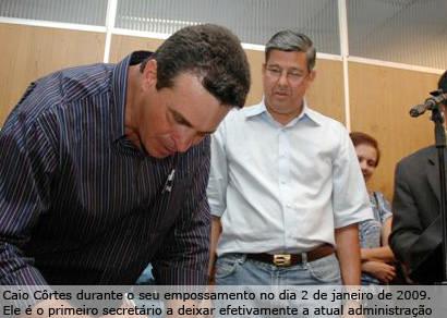 Caio Côrtes anuncia saída da Secretaria de Desenvolvimento Rural