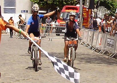 Fausto e Marcélio competem na primeira etapa do X-Terra Brasil