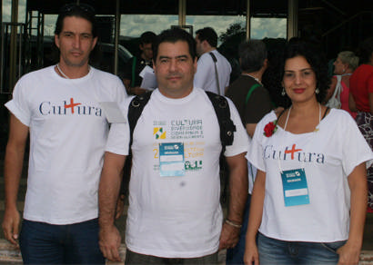 Três representantes de Araxá participam da Conferência Nacional de Cultura