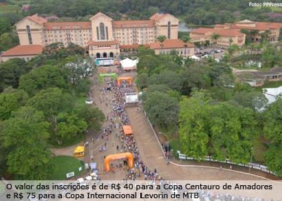 Etapa de Araxá é considerada a principal da Copa Internacional de MTB