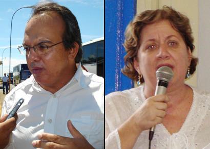 Miguel Jr. e Lídia Jordão falam sobre a demora no repasse de subvenções sociais