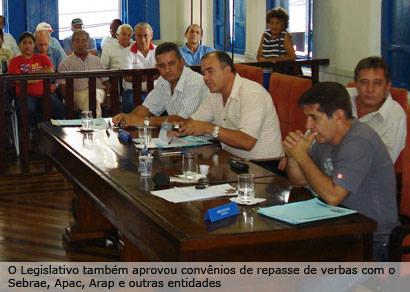 Vereadores aprovam criação do projeto Limpando, Reformando e Produzindo