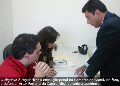 Defensoria Pública realiza audiência no presídio