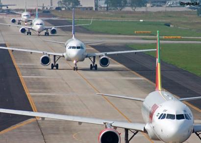 Procura por voos domésticos cresceu 32% durante o mês de março