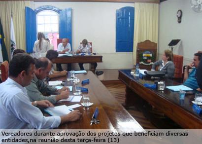 Executivo envia projetos contemplando sete entidades assistenciais