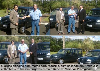 CBMM faz doação de dois carros ao Consep