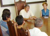 Jeová discute projeto do novo Mercado Municipal com ex-permissionários
