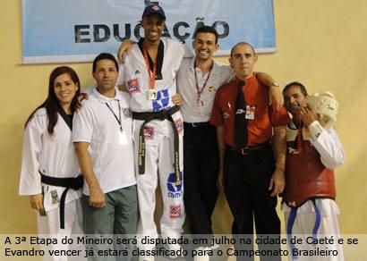 Evandro vence a 2ª Etapa do Mineiro de Taekwondo