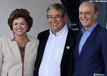 Dilma Rousseff elogia doces de Araxá em visita a Uberaba