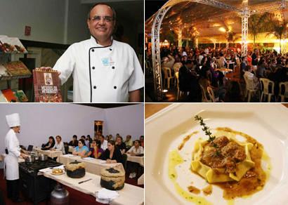 Amantes da boa mesa se reúnem no Festival Internacional de Cultura e Gastronomia