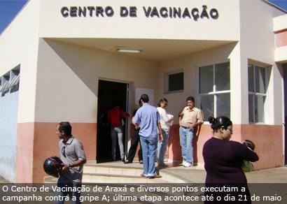 Inverno deixa o município em alerta para casos de gripe A