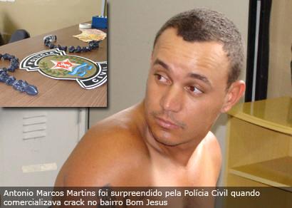 Polícia Civil apreende grande quantidade de crack
