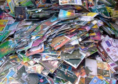 PM apreende mais de 3 mil CDs e DVDs piratas no bairro Alvorada