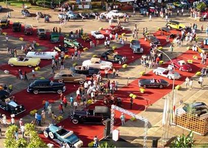 Encontro Nacional de Carros Antigos acontece no início de junho