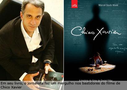 Marcel Souto Maior realiza palestra sobre a vida e o filme de Chico Xavier nesta quinta