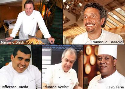 Chefs renomados confirmam presença no festival