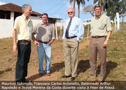 Presidente da Epamig destaca trabalhos da Fazenda Experimental
