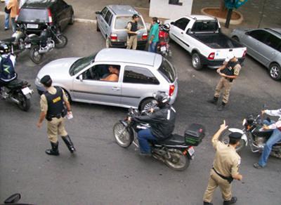 PM reforça policiamento durante os jogos da Copa