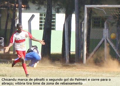Internacional é goleado e dá a mão para o Palmeri sair do buraco