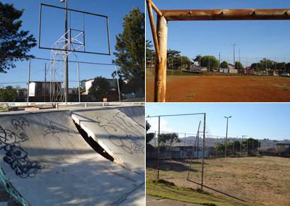 Moradores do Urciano Lemos esperam por reformas de praças de esportes