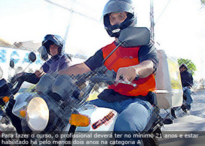 Mototaxistas e motofretistas terão que fazer curso obrigatório
