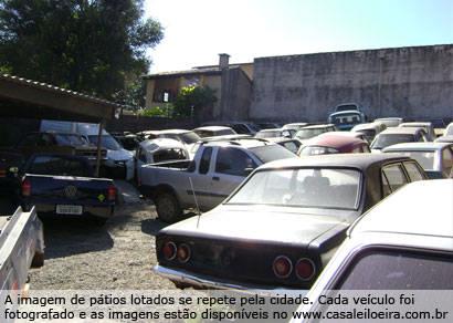Leilão de veículos apreendidos