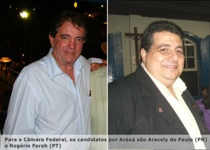 Araxá tem seis candidatos a deputado estadual e dois para federal