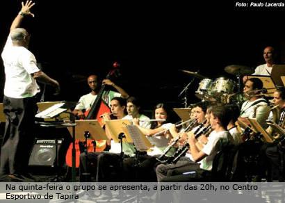 Big Band Palácio das Artes no Cine Teatro Brasil nesta quarta