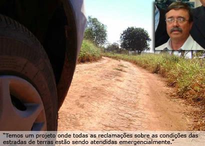 Pontos mais críticos serão priorizados na restauração de estradas de terra