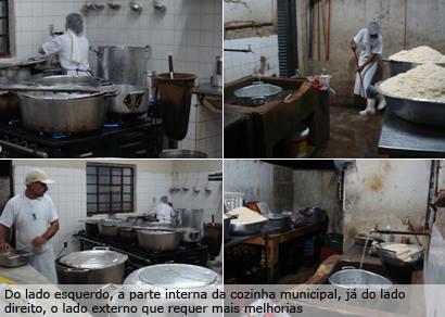 Produção de marmitas para servidores públicos necessita de espaço adequado