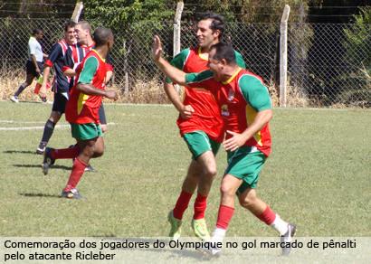 Gol de pênalti garante a vitória do Olympique