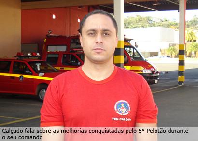 Corpo de Bombeiros em Araxá tem novo comandante