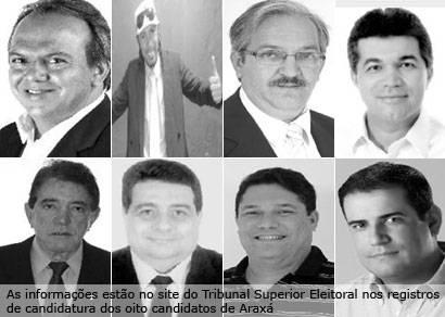 Soma de bens declarados de candidatos de Araxá passa dos R$ 6 milhões