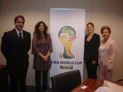 Comitiva visita CBF e diz que Araxá está na briga para ser subsede da Copa 2014