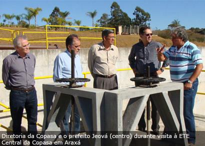 Copasa anuncia 100% do esgoto tratado a partir de março de 2011