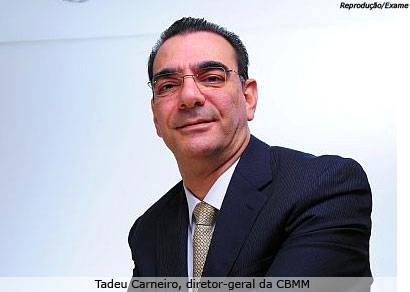 CBMM já alcançou 80% das vendas do seu nível pré-crise