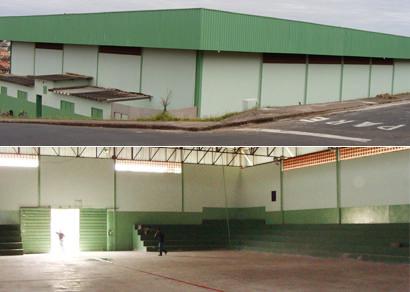 Reforma do ginásio do Santo Antônio será concluída em 30 dias, diz prefeitura
