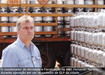 ANP interdita quatro revendas de gás de cozinha em Araxá