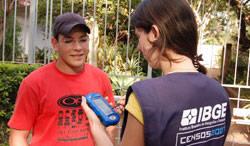 Recenseadores já estão nas ruas de Araxá para a coleta de dados do Censo 2010