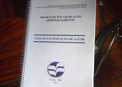 Secretário estadual inaugura curso de Gestão em Serviços de Saúde em Araxá