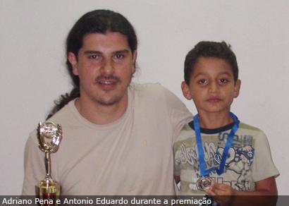 Adriano Pena é vice no Torneio de Xadrez dos Bancários de Uberaba