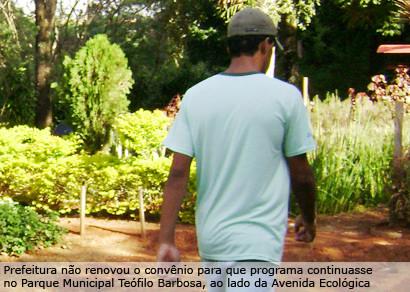 Pequeno Jardineiro será transferido para a avenida João Paulo II