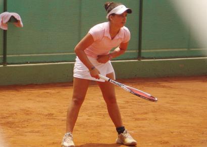 Marcela Valle em busca de uma carreira promissora no tênis