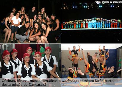 Mais de mil bailarinos se apresentam em 13 modalidades no Dançaraxá