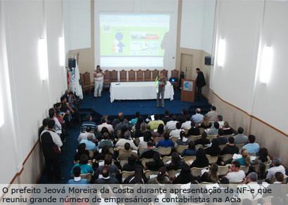 Prefeitura lança a Nota Fiscal Eletrônica em Araxá