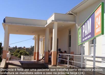 Estagiários de medicina atuam irregularmente no PAM